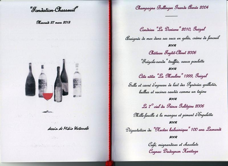 dîner fondation Chasseuil 130327 001