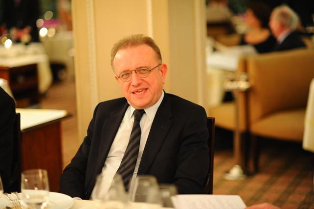 Diner Bipin Desai 13 Decembre 2013 chez Laurent à Paris  © Laurence de Terline