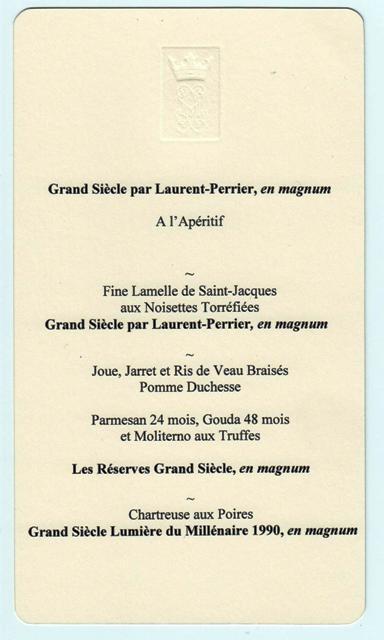 déjeuner Laurent Perrier 140114 001