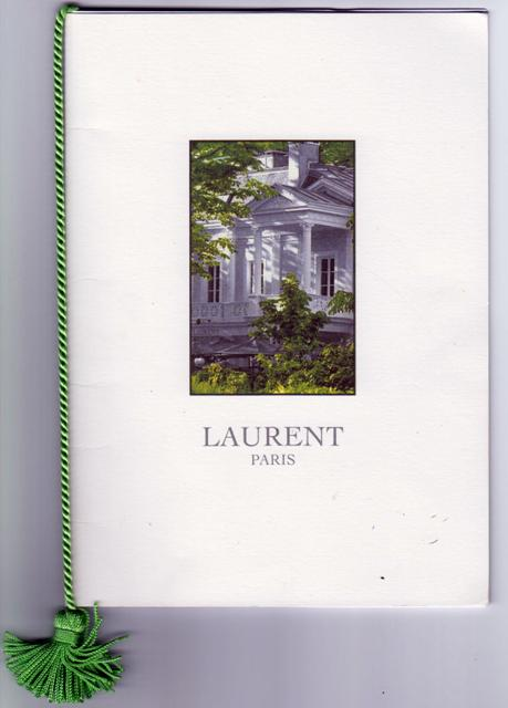 MENU LAURENT DINER 183 140919 B 001