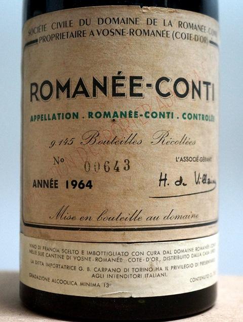1964 Romanée Conti 2 - Copie
