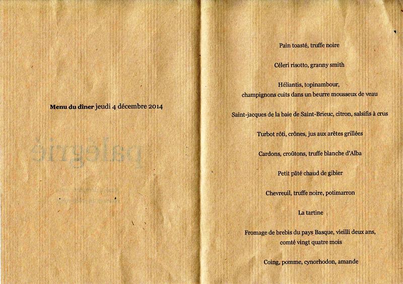 menu Palégrié 1 001